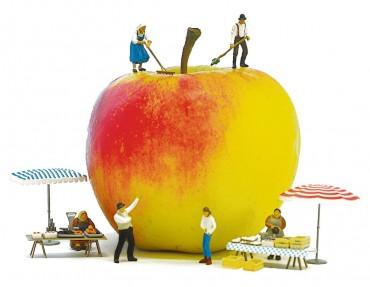 Der Apfel wird Kunst