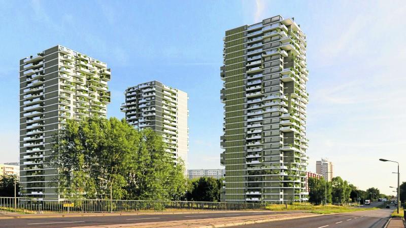 Drei Mega-Türme gegen Wohnungsnot