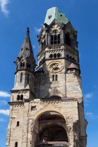 Kaiser Wilhelm Memorial Church in Berlin, Germany.