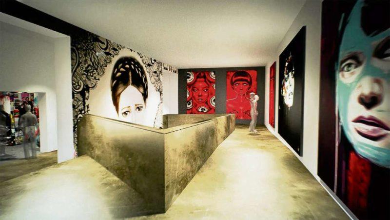 Urban Art Museum – Farbklecks im Kiez