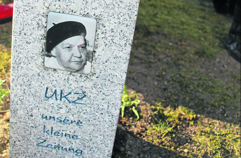 Erinnerung an eine Kämpferin