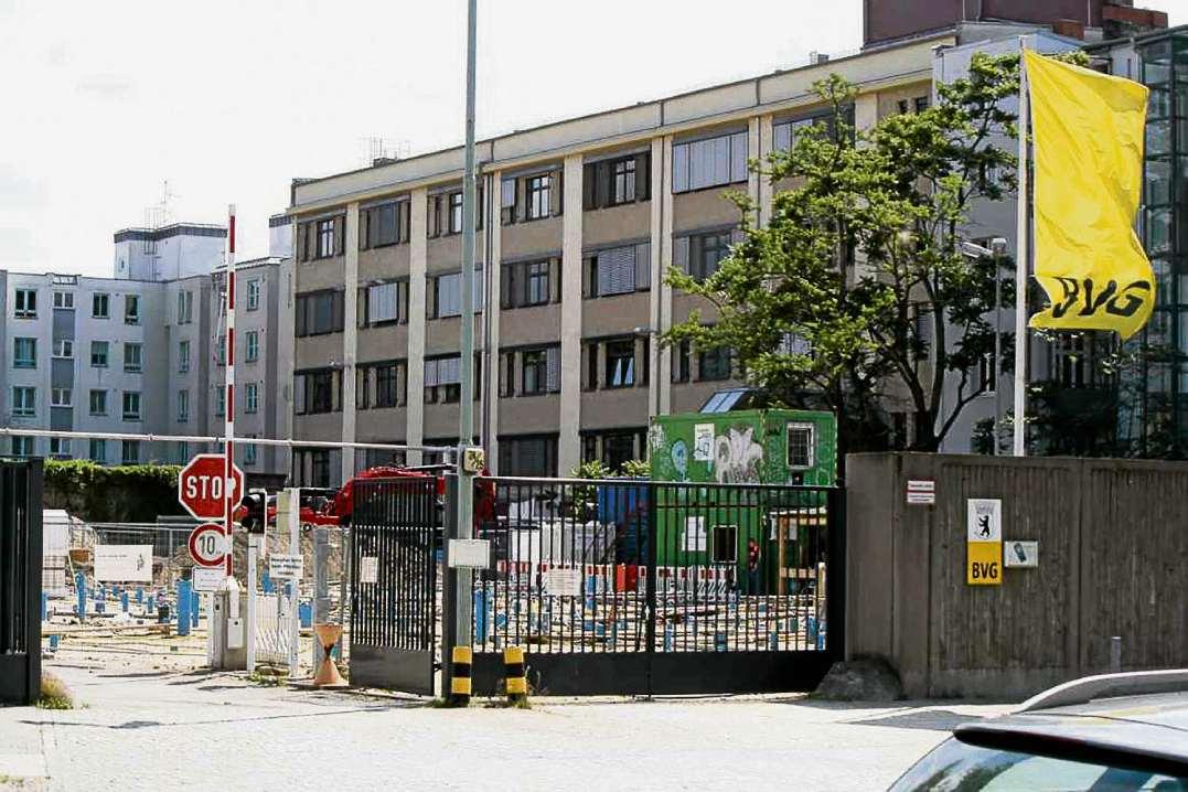 Bürohaus für die BVG