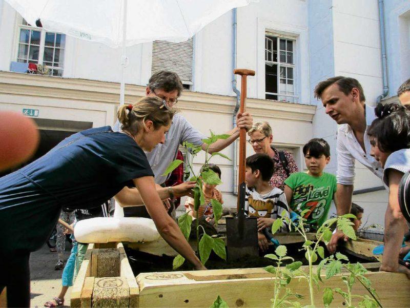 Gärtnern für eine gemeinsame Zukunft