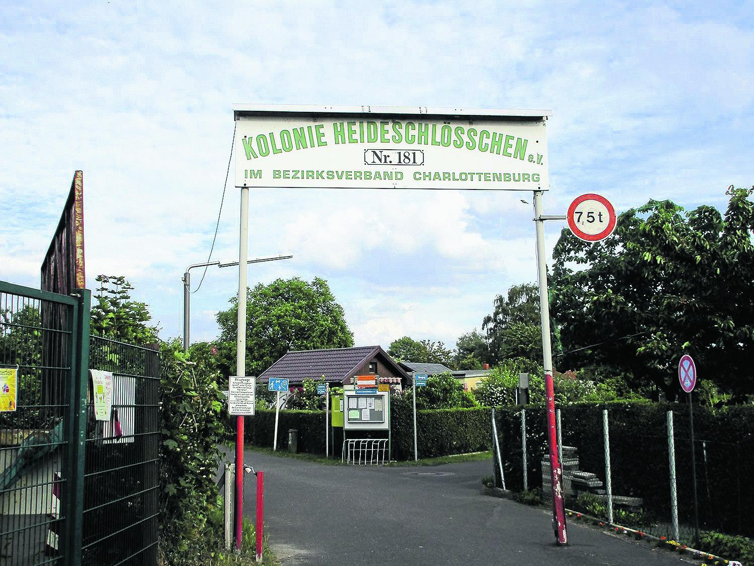 Tatort Laubenparadies
