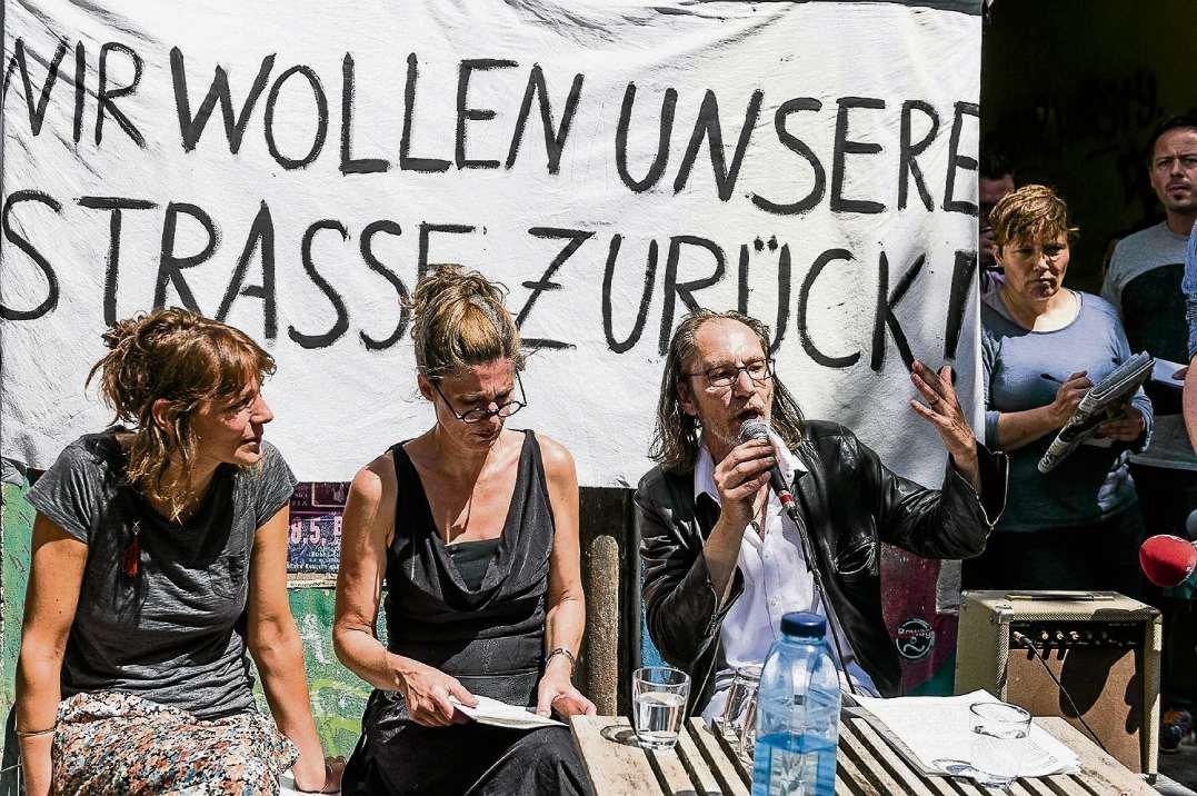Zwischen Protest und Frust