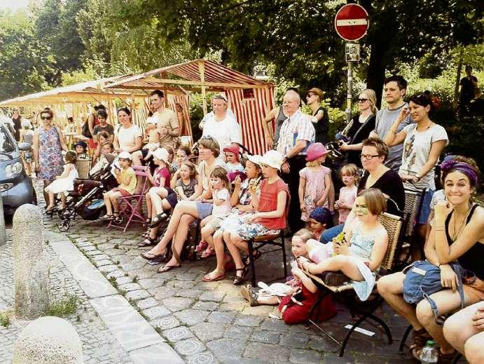 Bilderbuchfest auf dem Helmi
