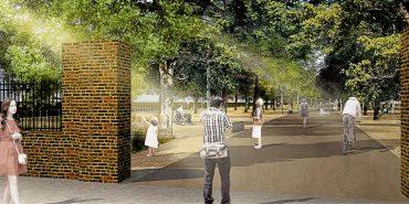 Neuer Park mit Schattenseite