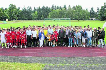 Sportfest in der Kaserne