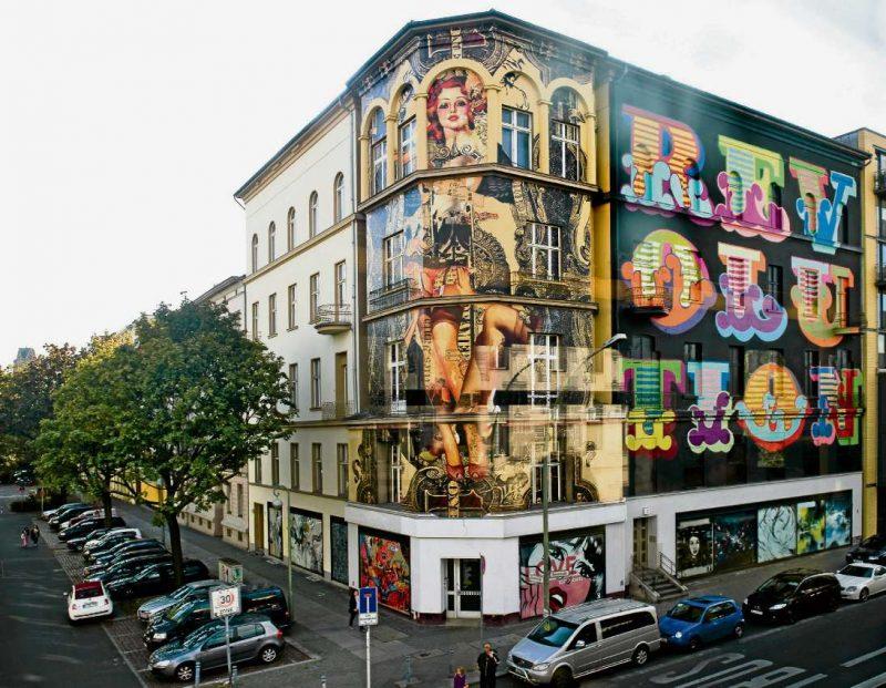 streit um stra enkunst berliner abendblatt b lowstra e sch neberg streetart tempelhof. Black Bedroom Furniture Sets. Home Design Ideas