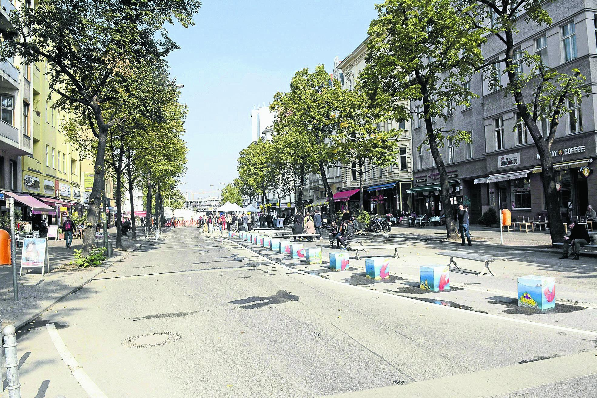 Aktionstage Maaßenstraße
