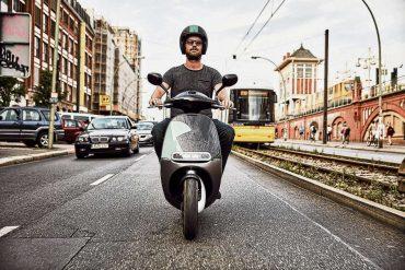 Mit dem Scooter durch Berlin