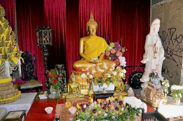 Buddha lädt nach Heinersdorf