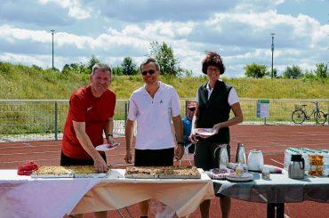 Erst Sport – dann Kuchen