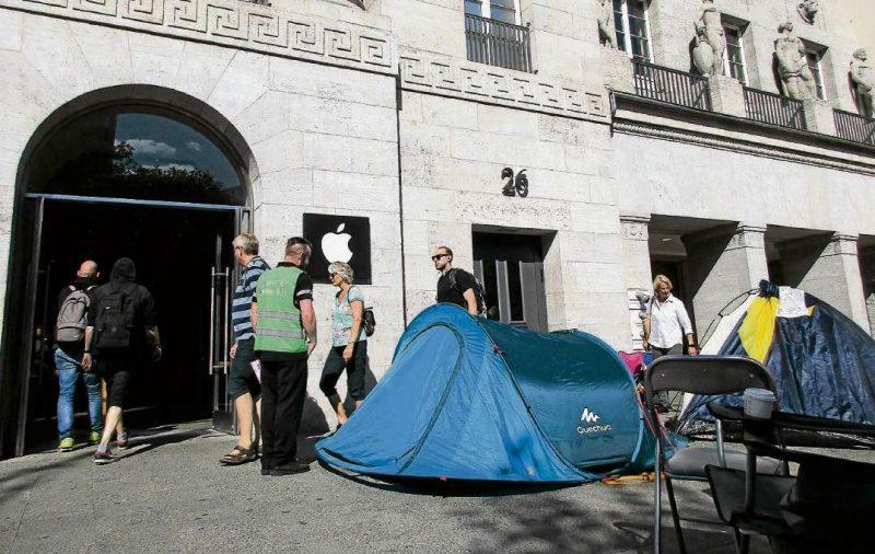 Camping fürs iPhone