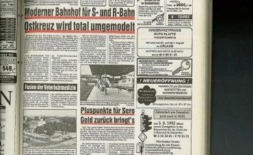 Jahrhundert-Umbau zwischen Stadt- und Ringbahn