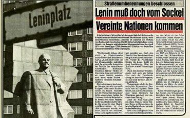 Neue Heimat für Lenin