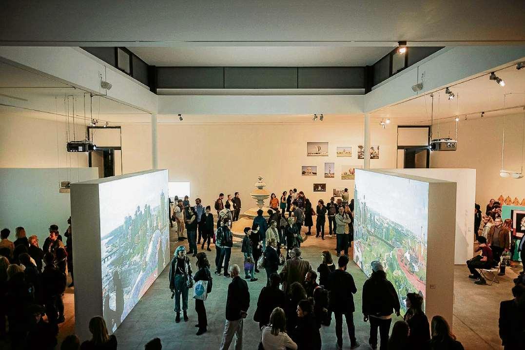 Hotspot für internationale Kunst