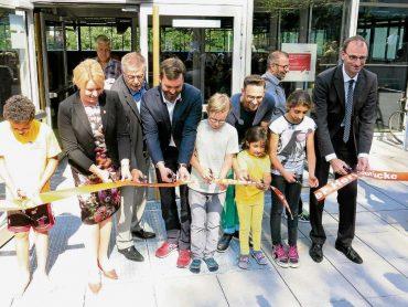 Neue Sporthalle eingeweiht