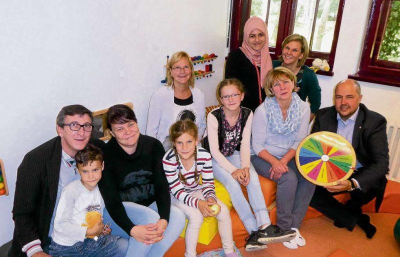 Neues Familienglück für die Kinder