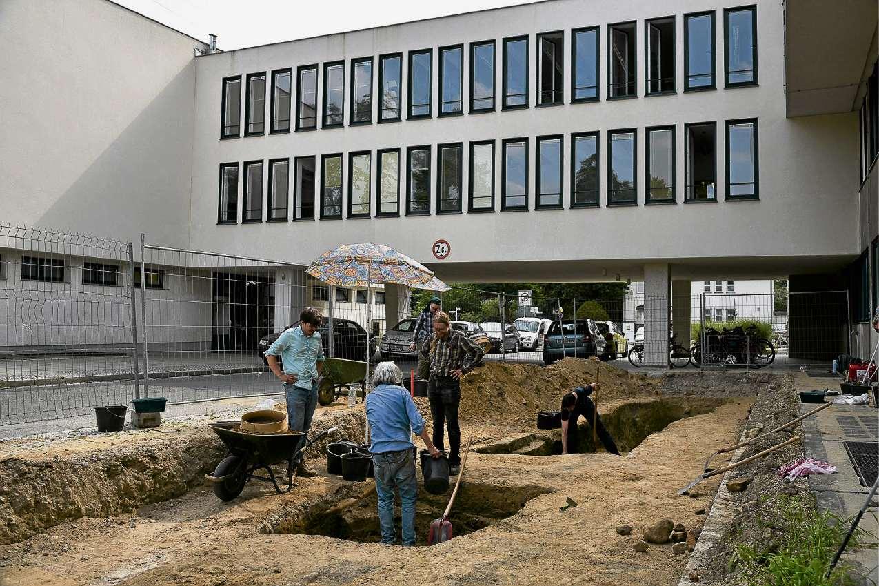 Menschenknochen auf FU-Gelände entdeckt