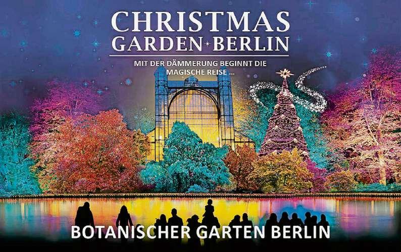 Ein Lichter-Märchen für die Sinne › BERLINER ABENDBLATT › Advent-Tipp, Botanischer Garten ...