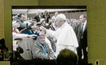 Pankower Obdachlose zu Besuch beim Papst