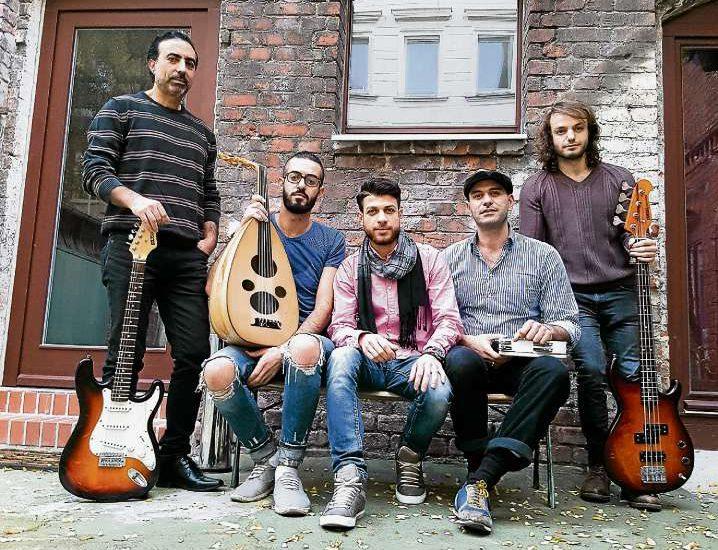 Flüchtlinge erobern die Musikszene