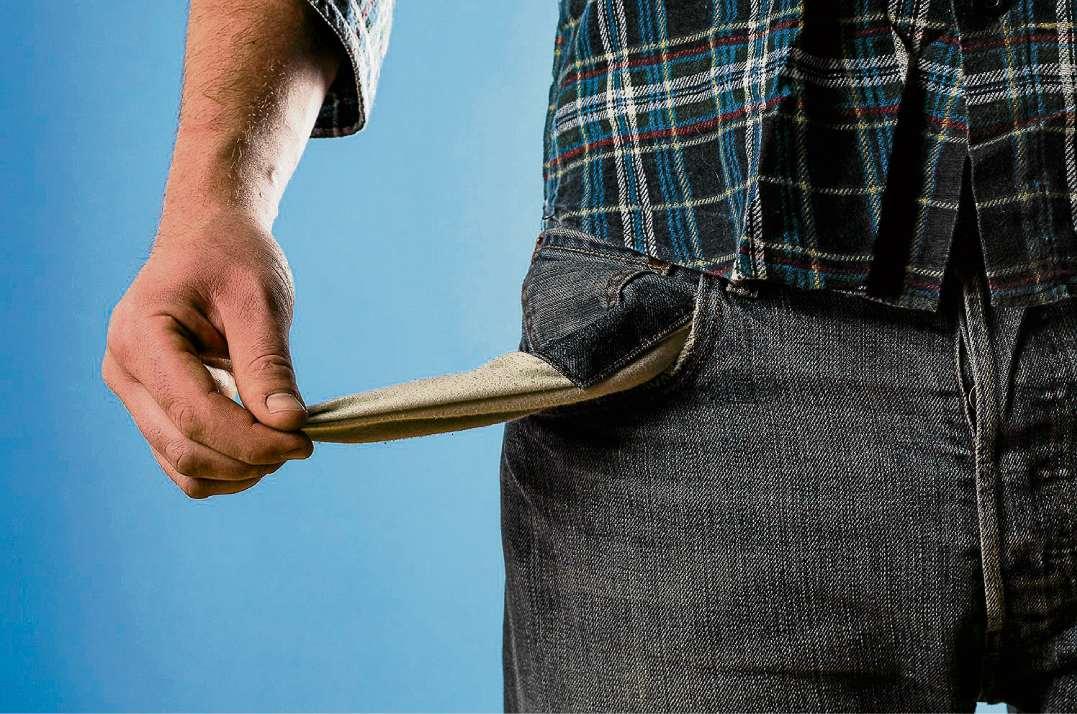 Viele Spandauer überschuldet