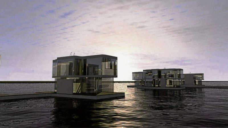 Gericht versenkt die schwimmenden Häuser
