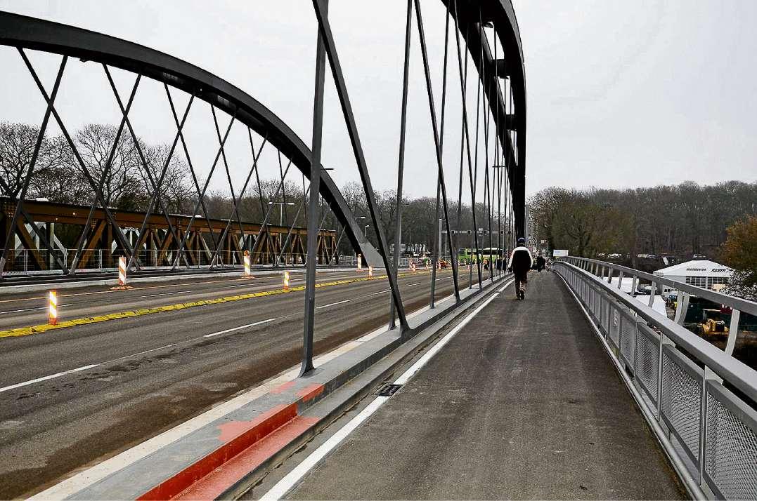 Freie Fahrt auf der Freybrücke