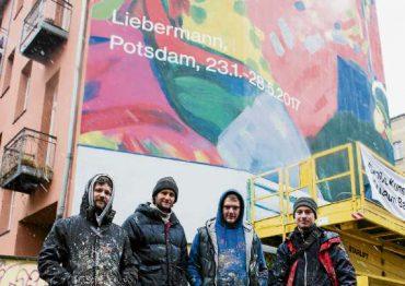 Vier Künstler für Kandinsky