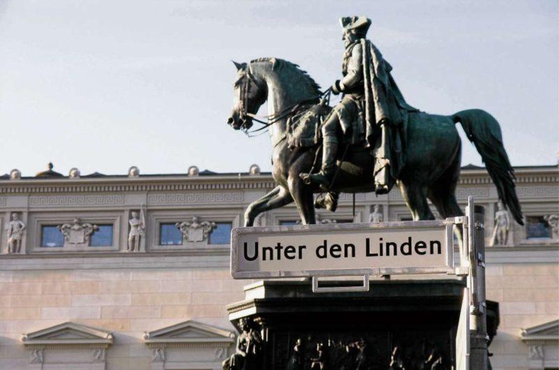 Unter den Linden soll Flaniermeile werden
