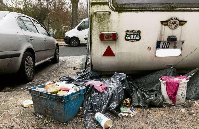 Zu viel Müll auf den Neuköllner Straßen