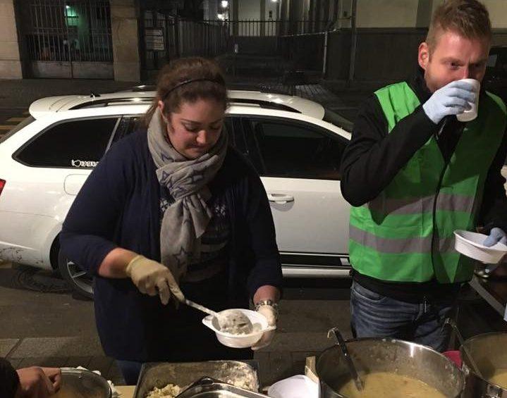 Der Engel der Obdachlosen