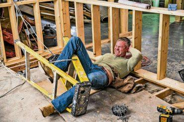 Gefährliche Baustelle