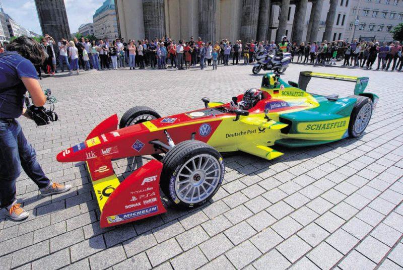 Formel E: Streckenprofil steht