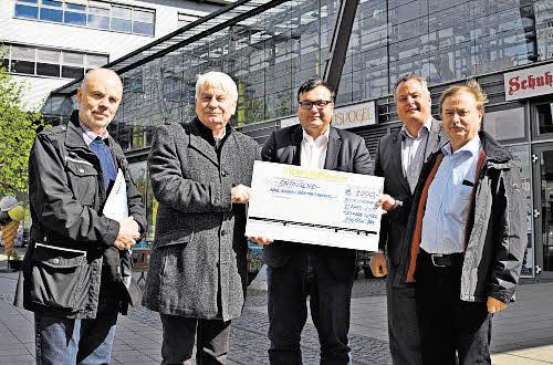 1.000 Euro Spende für das Kinderhaus