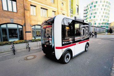 Automatische Busse für Pendler