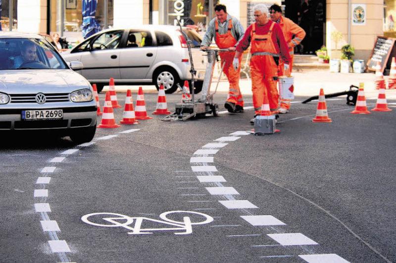 Neue Wege für Radfahrer