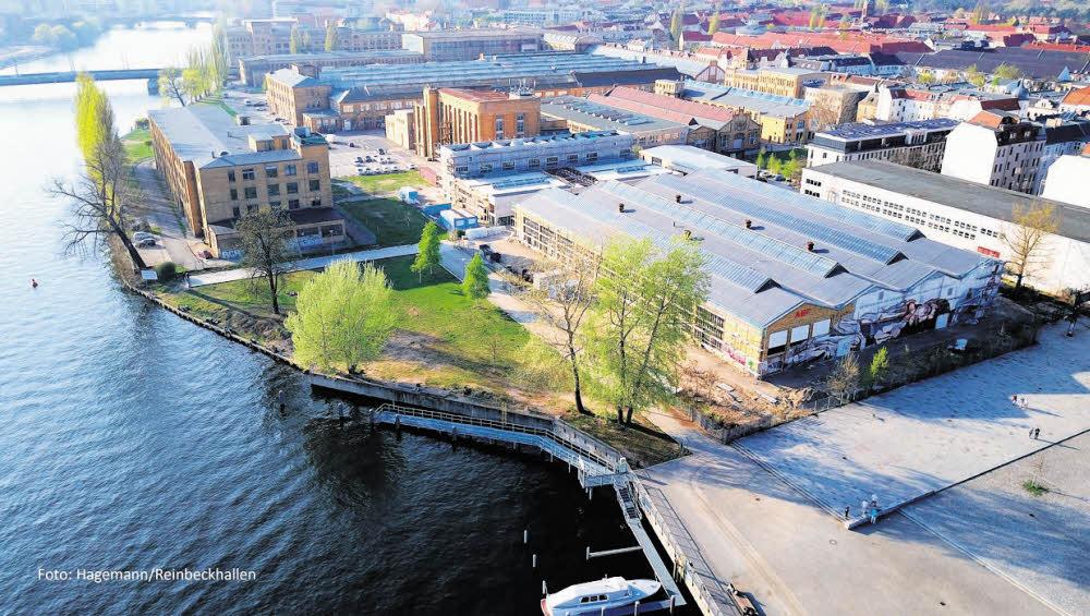Neues Kunstquartier am Schöneweider Ufer