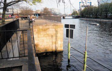 Neue Waisenbrücke liegt vorerst auf Eis