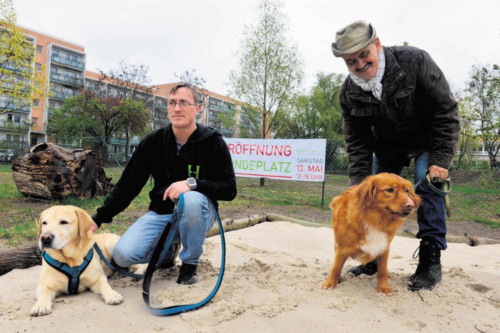Leinen los fürs Hellersdorfer Hundeglück
