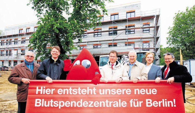Ein neues Zentrum für Blutspender