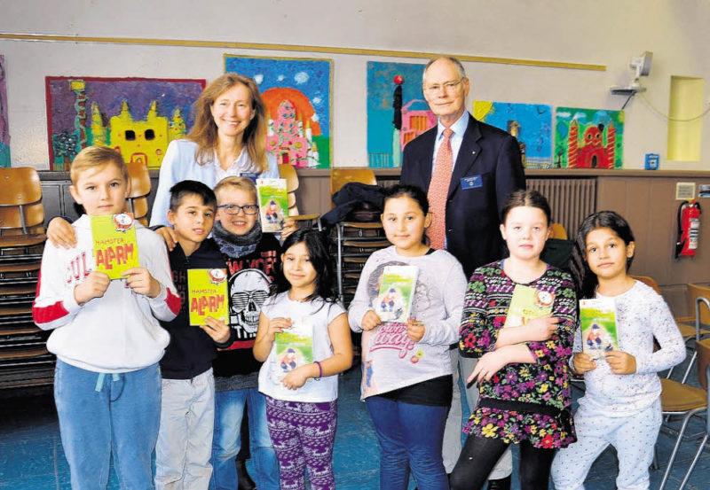 Lesebücher und Pausenkisten für Kids