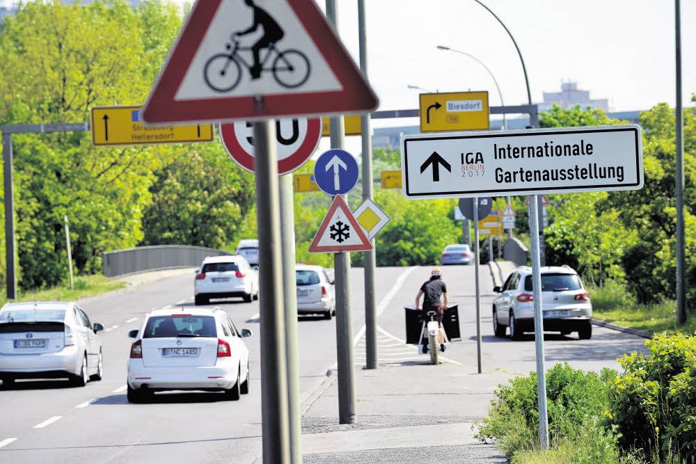 Berlin-Marzahn: Umbaupläne am Verkehrsknoten