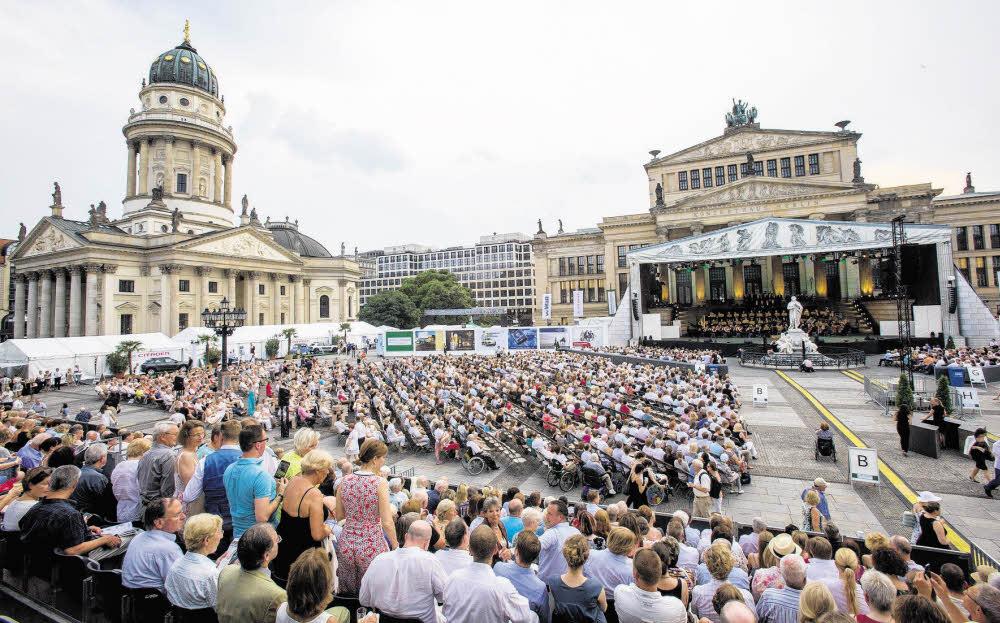 Open Air durch den Berliner Sommer