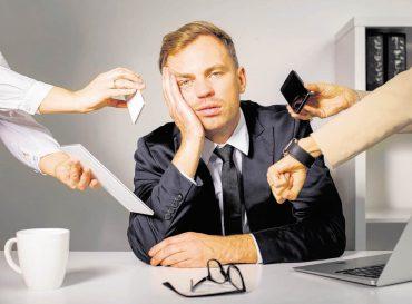 Weniger Stress im Job