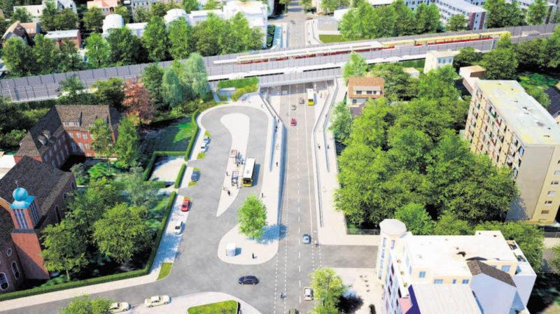 Kein Tunnel für die Dresdner Bahn