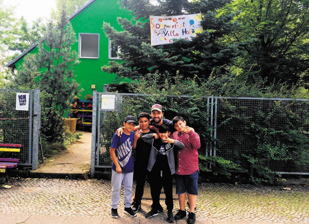 Große Sause im Germaniagarten-Kiez