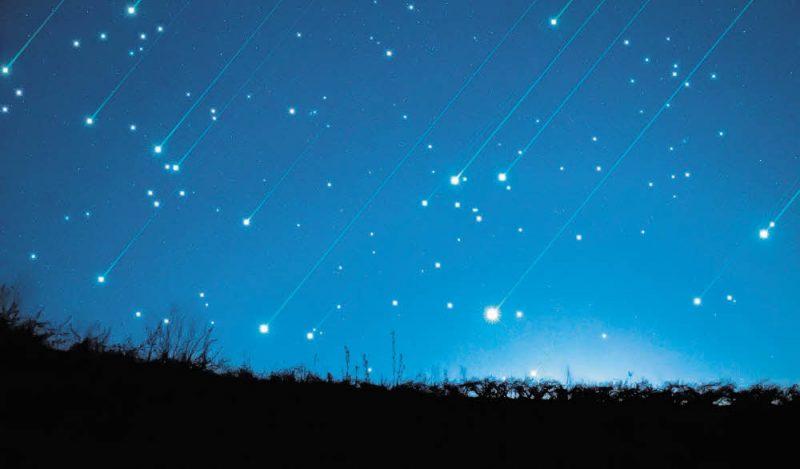 Unterm Sternenregen